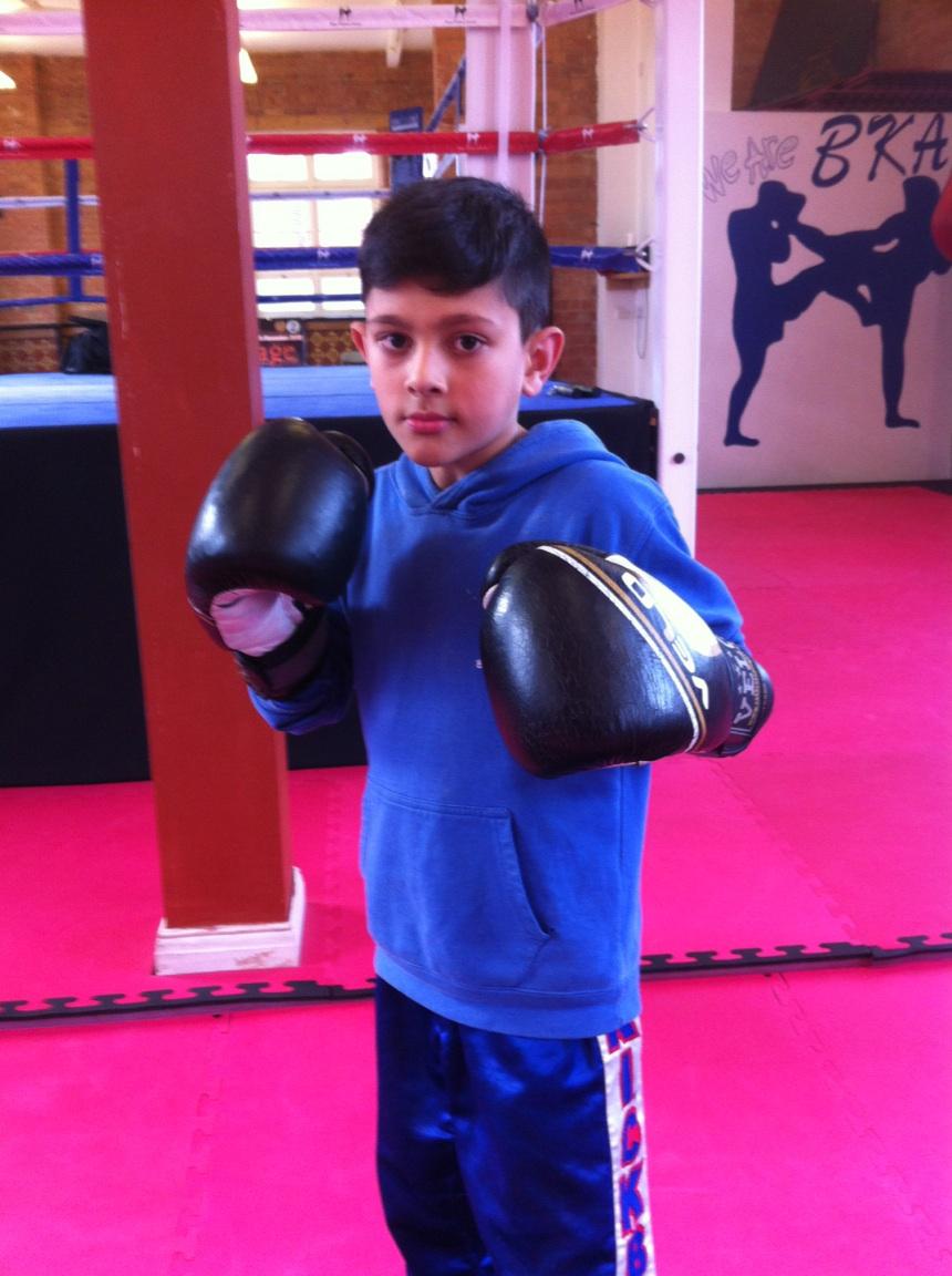 Aiman Shaid, Age 9yrs, 28kg