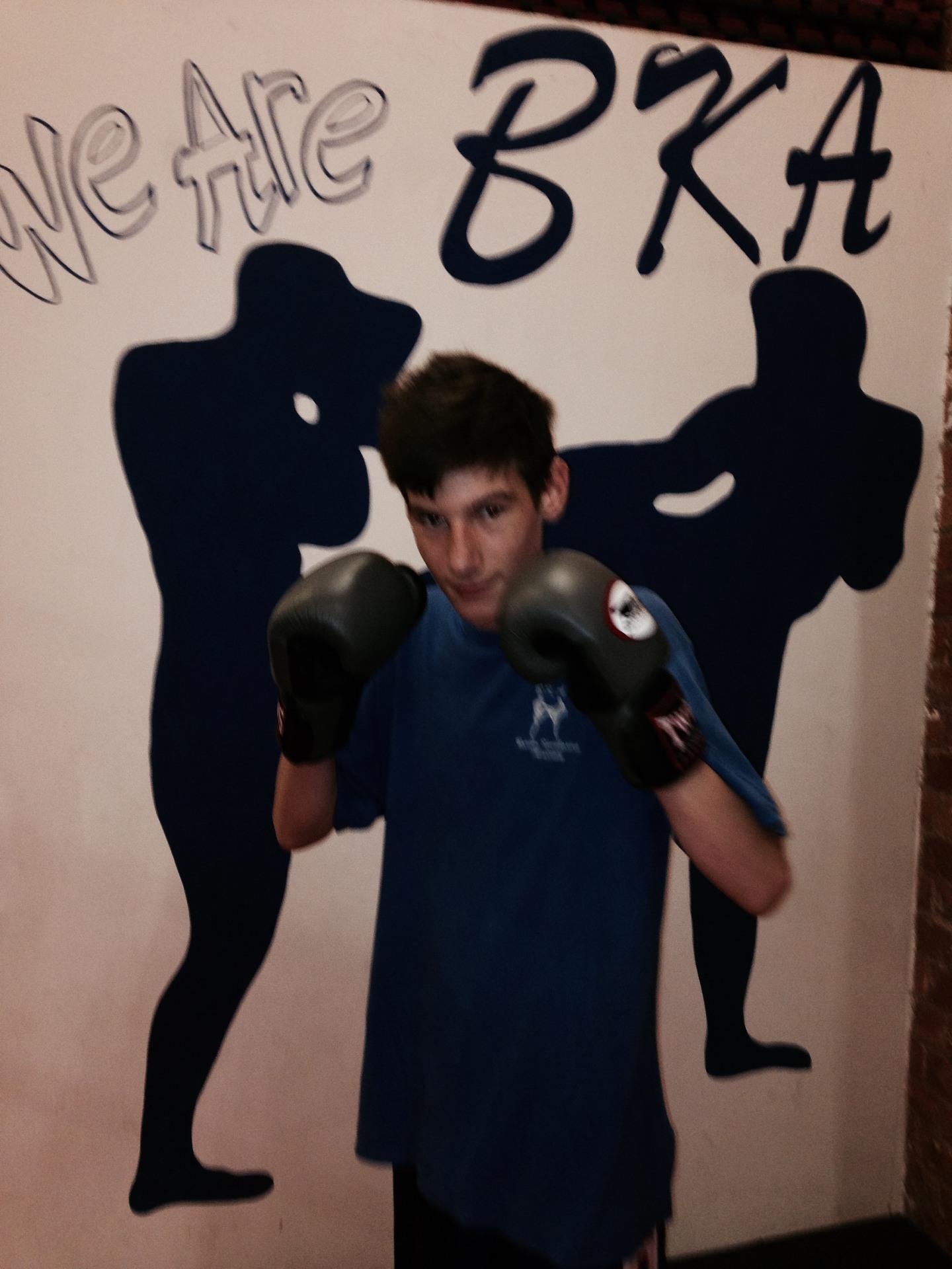 Jamie Brain, Age 14yrs, 57kg