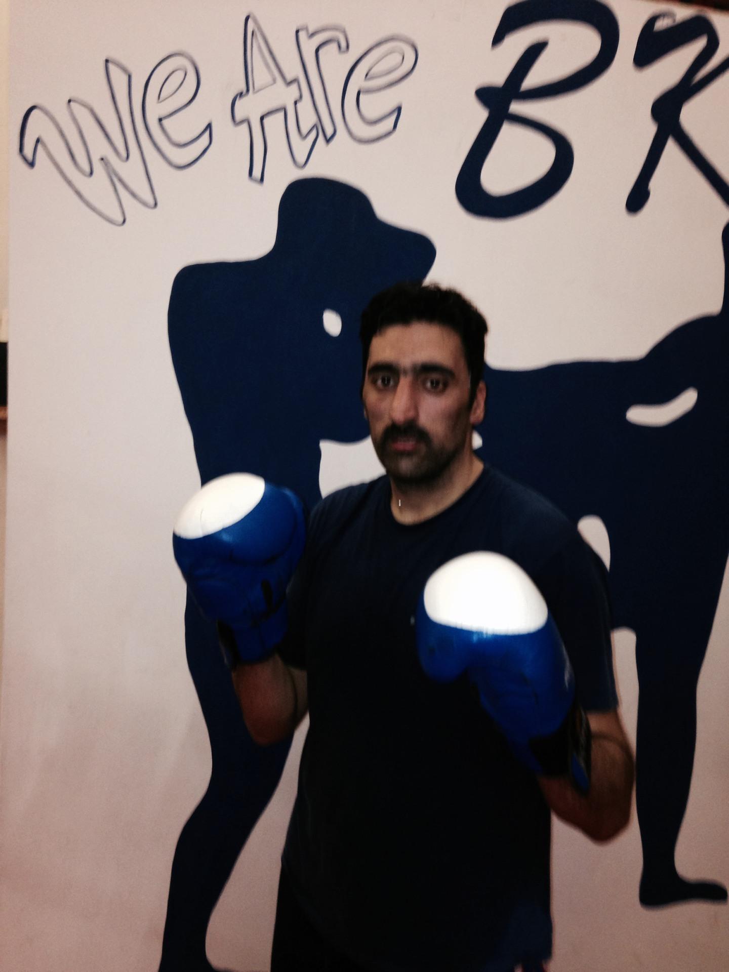 Majid Hussain, Age 28yrs, 85kg