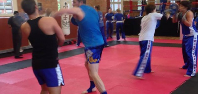 Mixed Sparring